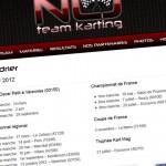 Equipe de kart NLJ Team Karting