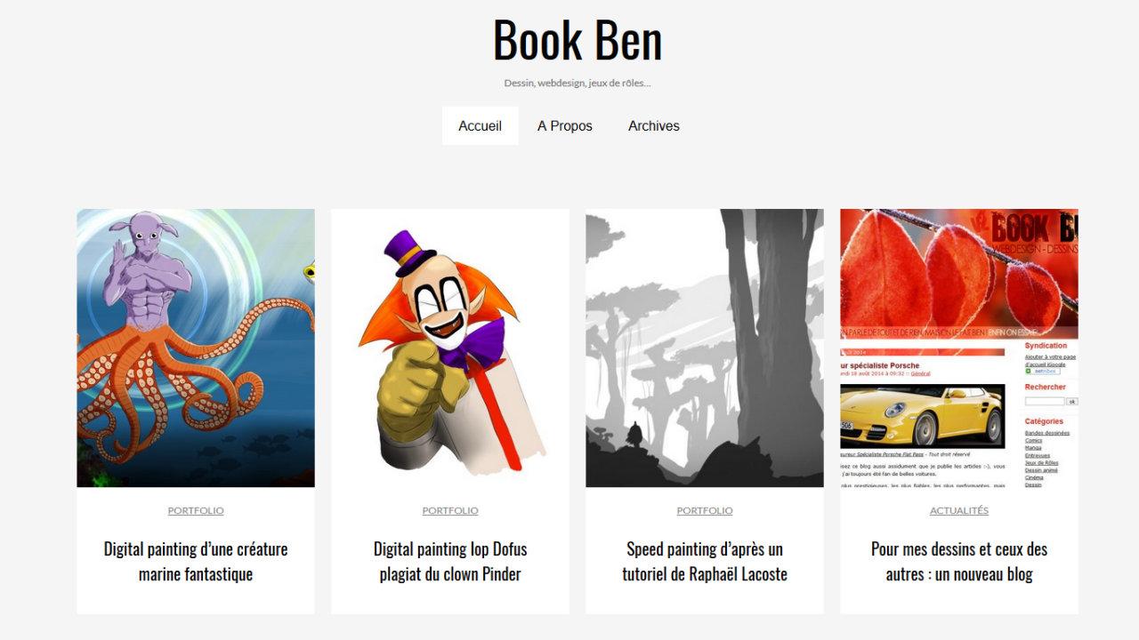 Blog dessin et digital painting