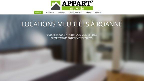 Location d'appartements meublés à Roanne