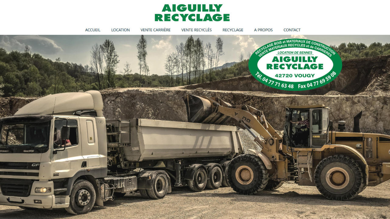 Aiguilly Recyclage Vougy